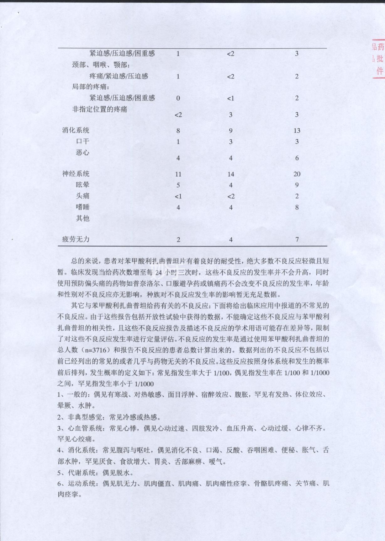 苯甲酸利扎曲普坦片