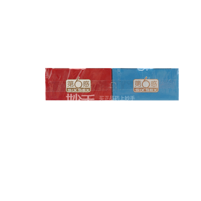 第六感003 天然胶乳橡胶避孕套(幻隐超薄+幻隐超润滑)10只+2只(体验装)