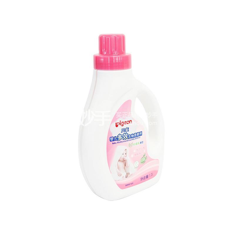 贝亲婴儿多效柔顺剂1.2L 柠檬草香型