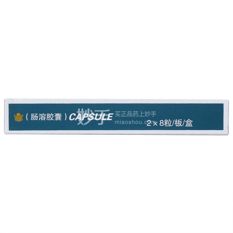 【东泰】华蟾素胶囊(肠溶胶囊) 0.25g*8粒*2板